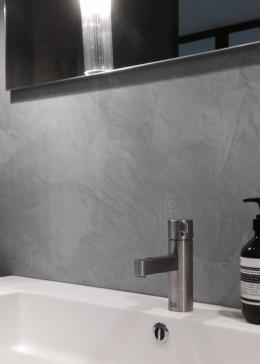 Łazienka bez kafelków – stiuk