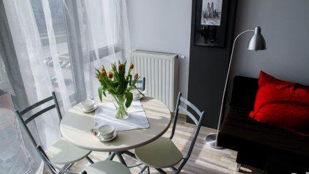 Ogrodowy salon. Kwiaty w aranżacji przestrzeni domowej.